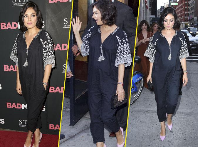 """Mila Kunis à New York à l'avant-première du film """"Bad Moms"""""""