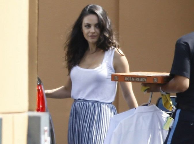 Mila Kunis : fini la lune de miel, la jeune mariée se remet au travail avec le sourire !