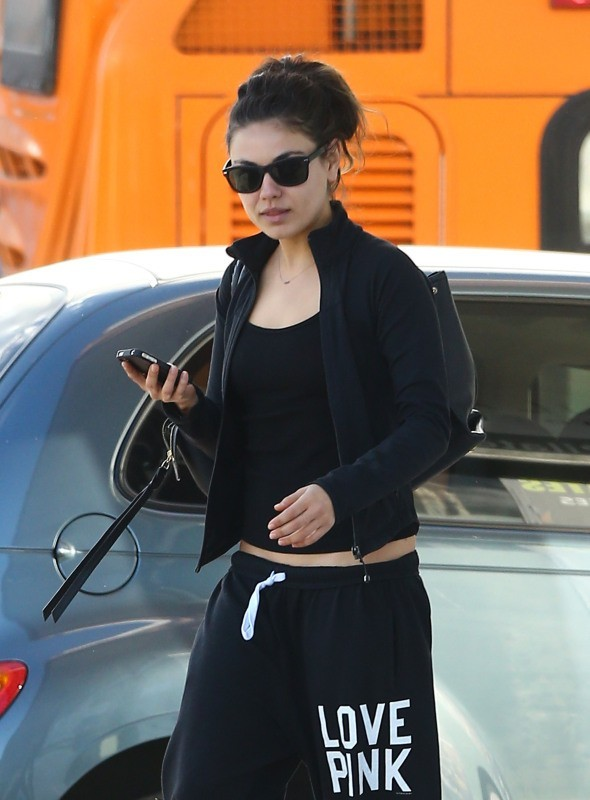 Mila Kunis le 9 novembre 2012 à Los Angeles