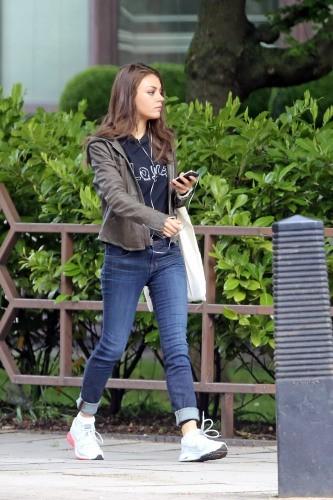 Mila Kunis le 25 mai 2013 à Londres