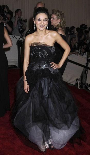 Photos : Mila Kunis au Metropolitan Museum of Art Costume Institute Benefit