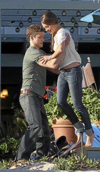 Photos : Mila Kunis et Justin Timberlake