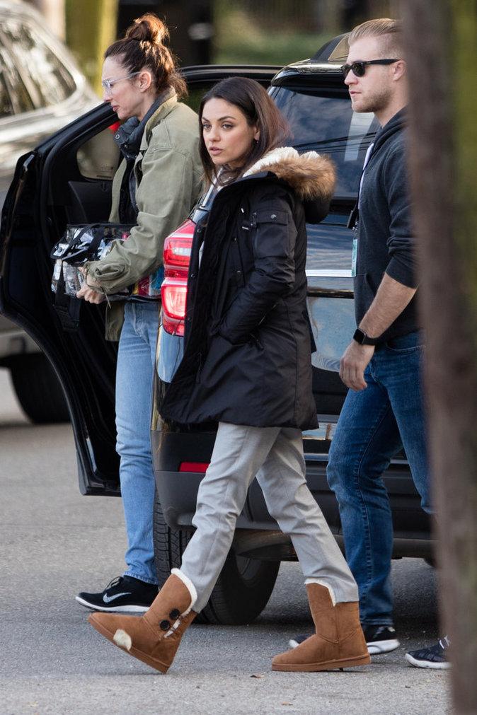 Photos : Mila Kunis : le chemin du travail retrouvé !