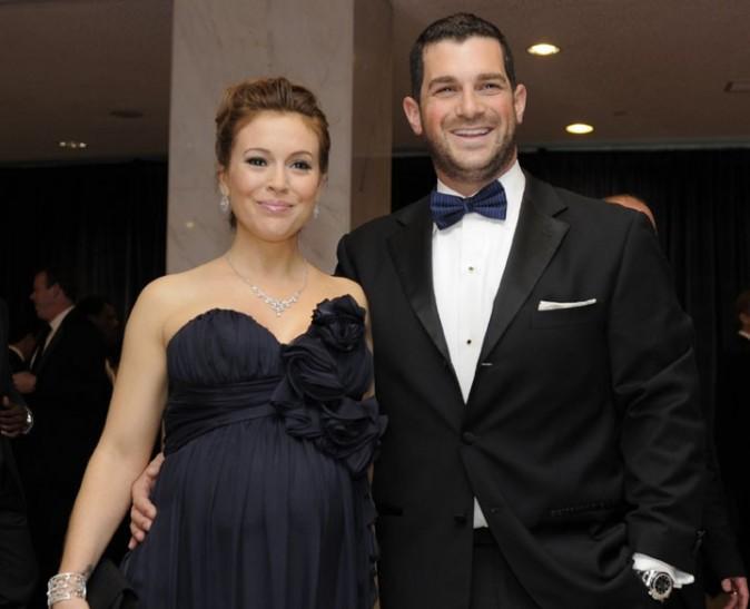 Alyssa Milano et son mari, l'agent des stars Dave Bugliari