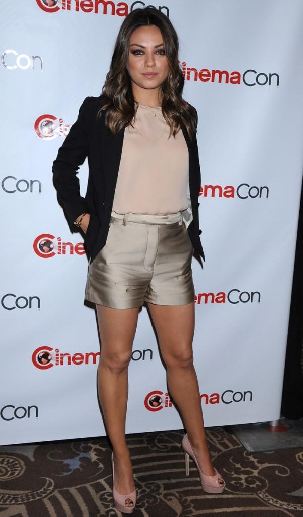 Mila Kunis à Las Vegas pour assister au CinemaCon