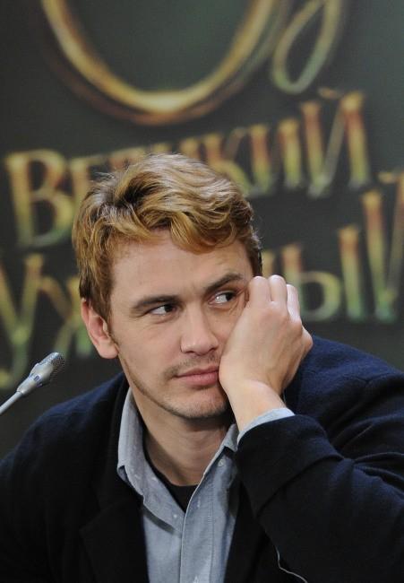 James Franco le 27 février 2013 à Moscou