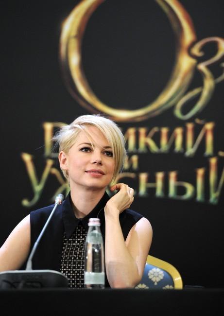 Michelle Williams le 27 février 2013 à Moscou