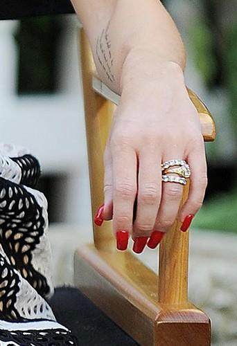 Miley Cyrus à New-York le 15 juillet 2013