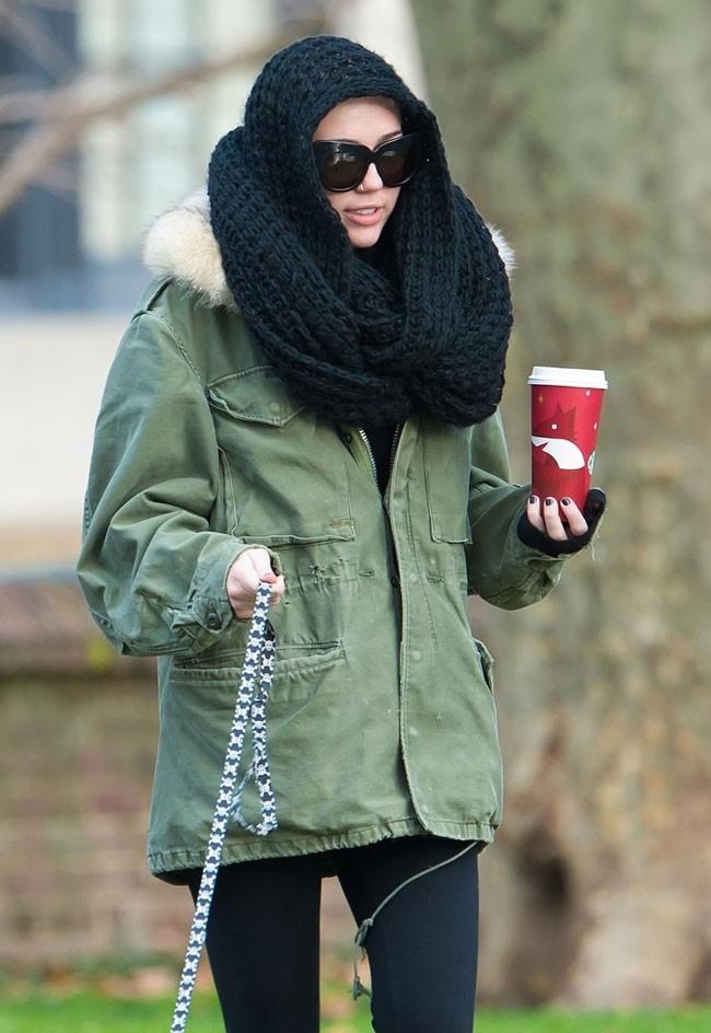 Miley Cyrus le 18 décembre 2012 à Philadelphie
