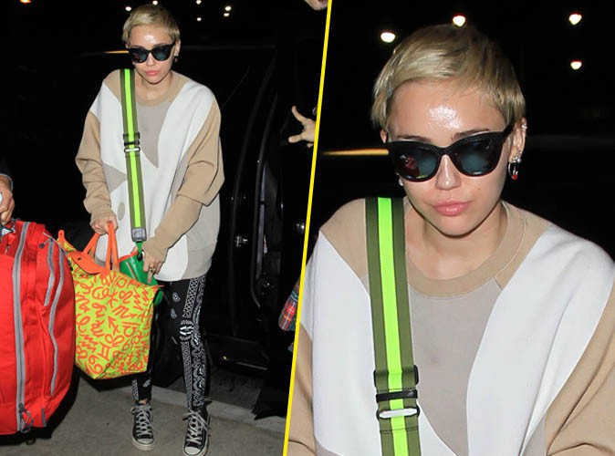 Miley Cyrus : dans l'embarras apr�s le vol d'un objet tr�s intime...
