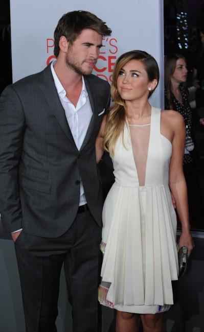 Miley Cyrus et son amoureux Liam Hemsworth !
