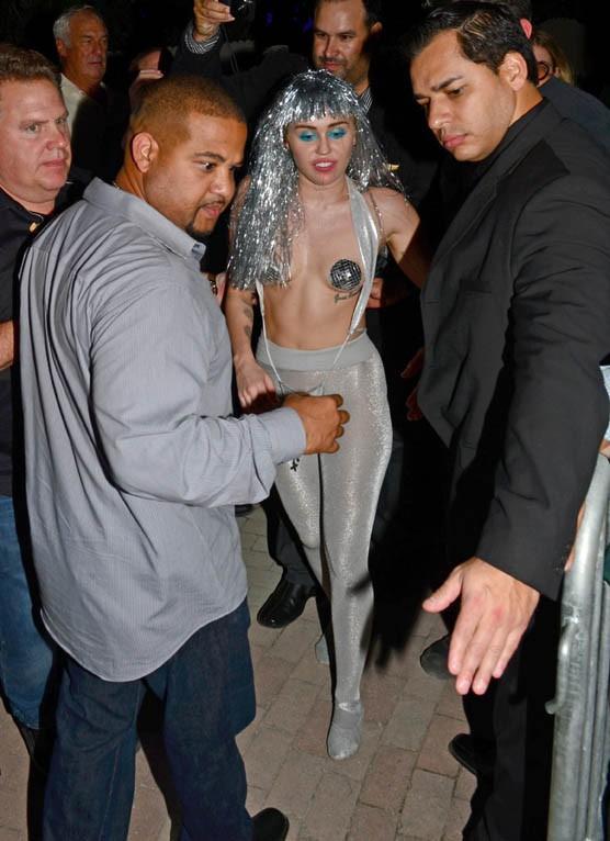 Miley Cyrus à Miami le 3 décembre 2014