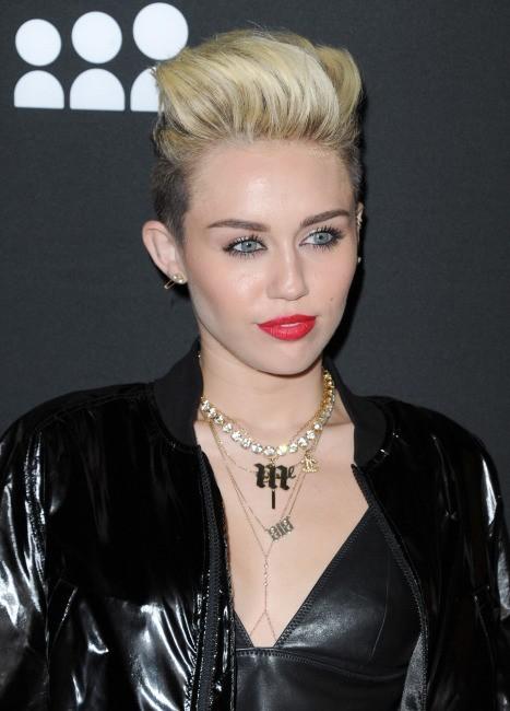 Miley Cyrus le 12 juin 2013 à Los Angeles