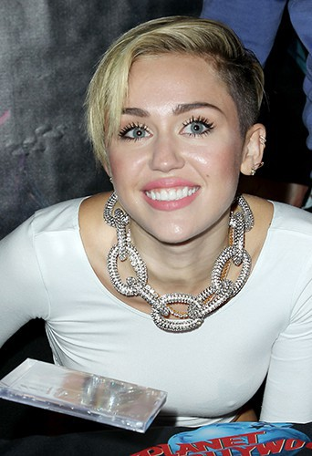 Miley Cyrus à New-York le 8 octobre 2013
