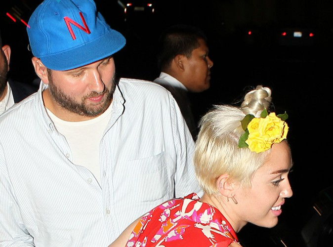 Miley Cyrus à Los Angeles le 11 juillet 2014