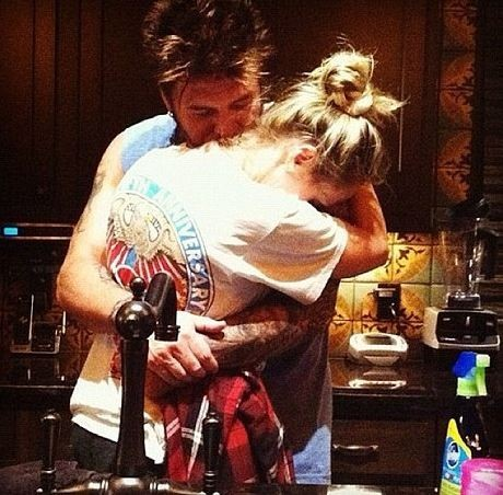 Miley et Billy Ray