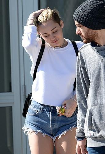 Miley Cyrus à Miami le 18 décembre 2013