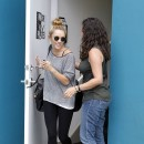 Miley Cyrus le 12 juillet 2012 à Studio City
