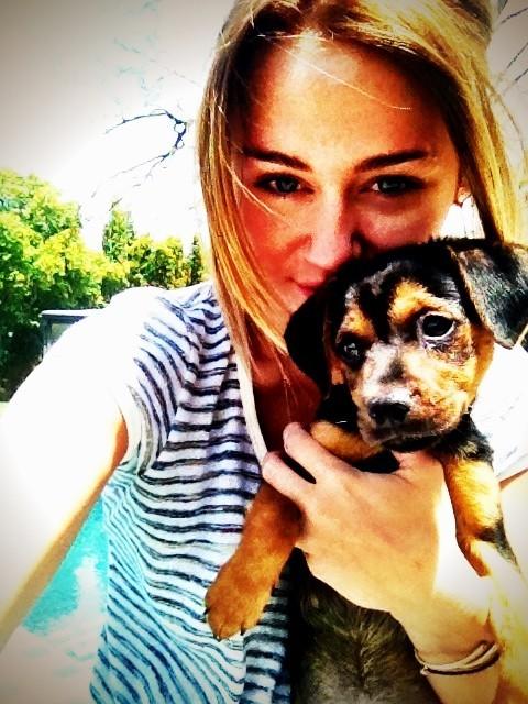 Miley et Happy