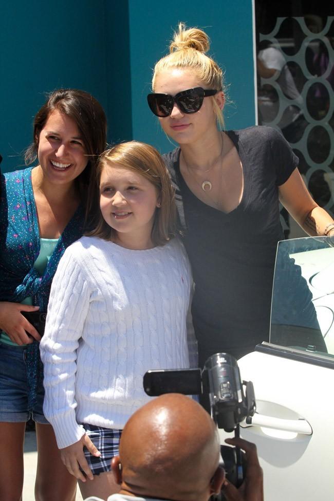 Miley Cyrus le 16 juillet 2012 à Los Angeles