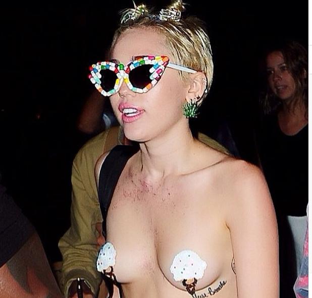 Miley Cyrus : plus dénudée que jamais pour l'after party secrète d'Alexander Wang !