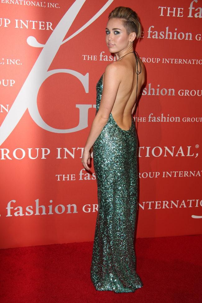 Miley Cyrus à la soirée FGI Night Of Stars Gala organisée à New-York le 22 octobre 2013