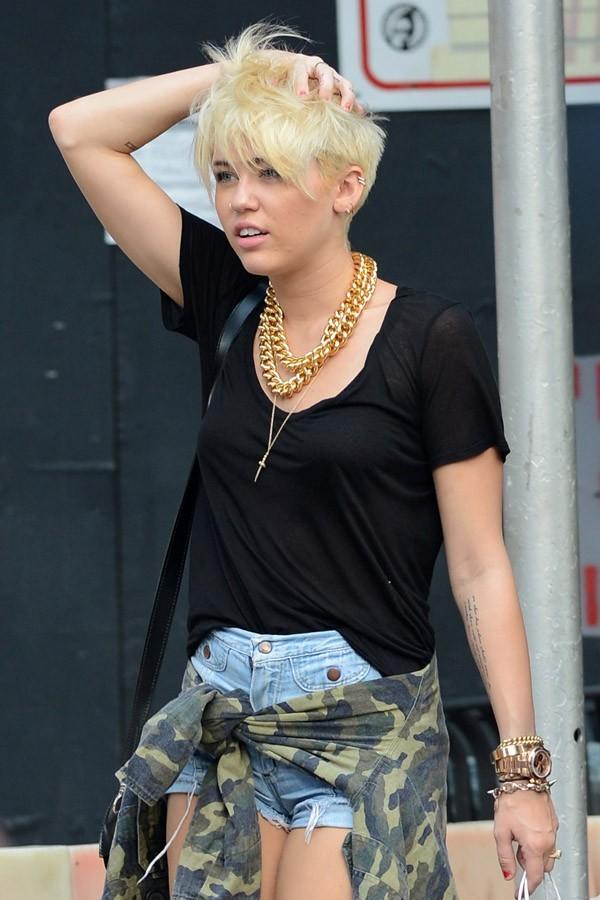 Miley Cyrus le 23 août à New York
