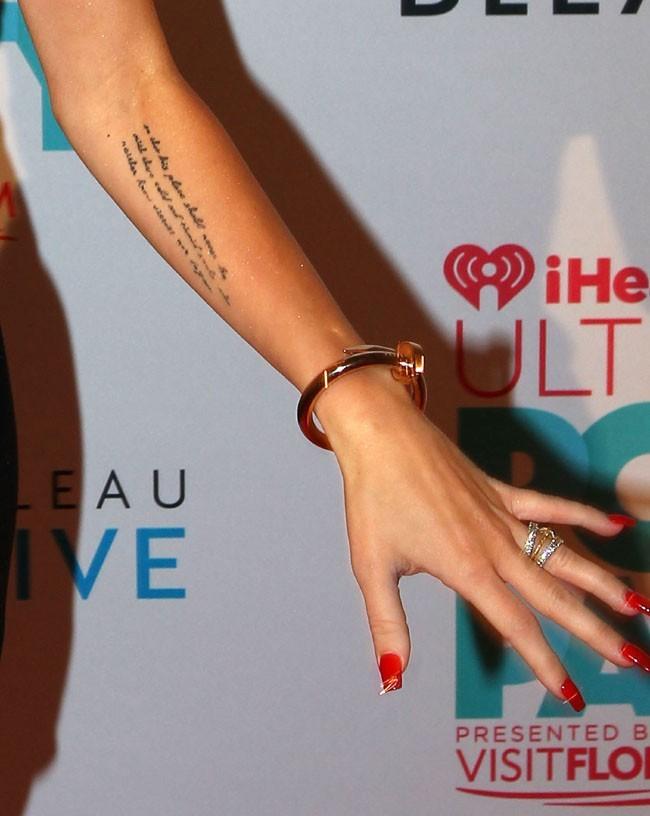 Miley Cyrus à la pool party iHeartRadio à Miami Beach le 29 juin 2013