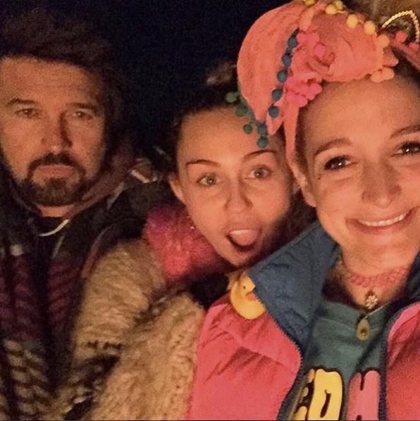 Miley Cyrus le 25 novembre 2015