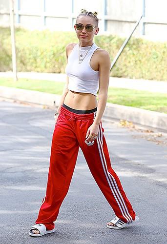 Miley Cyrus à Los Angeles le 31 août 2013