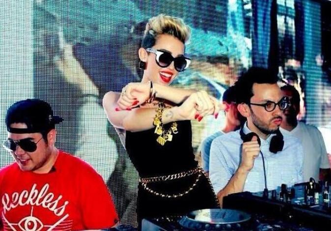 Miley Cyrus à Miami le 28 juin 2013