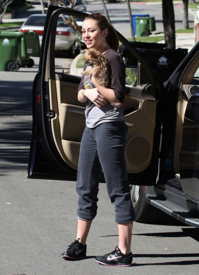 C'est vrai qu'elle a grossi Miley !