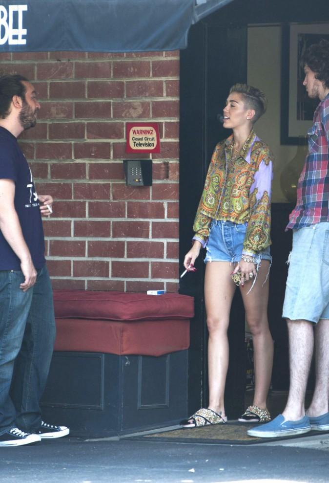 Miley Cyrus à Los Angeles le 2 septembre 2013
