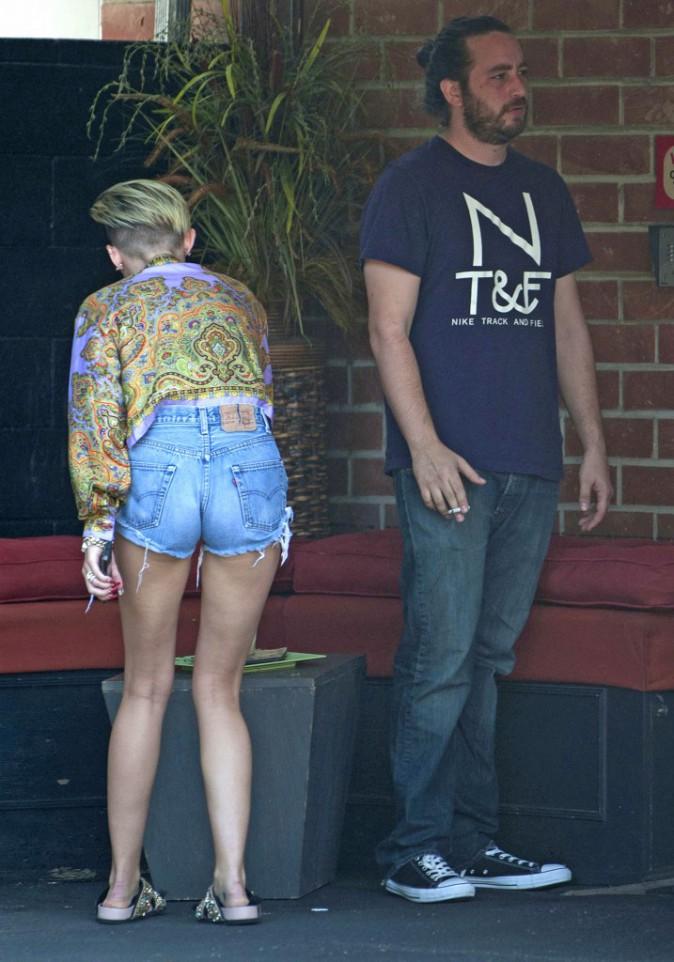 Miley Cyrus à Los Angeles le 2 septembre