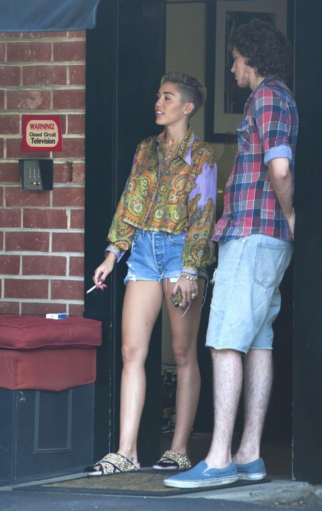 Miley Cyrus de retour en studio d'enregistrement