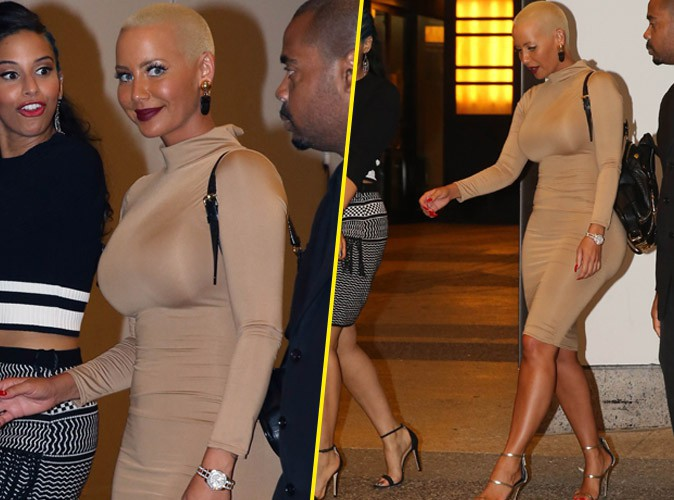 Amber Rose le 7 septembre 2015