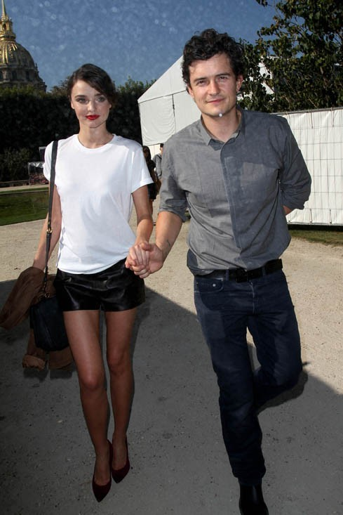 Son chéri l'a accompagnée au défilé Dior !
