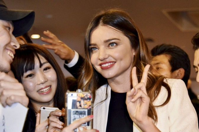 Photos : Miranda Kerr : accueillie comme une reine en Asie !