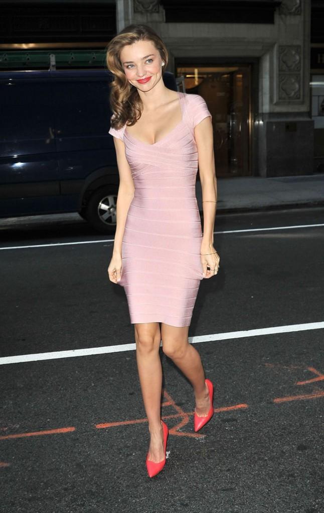 Miranda Kerr à New-York le 4 juin 2013