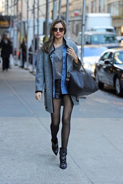 Miranda Kerr à New York, le 6 novembre 2012.