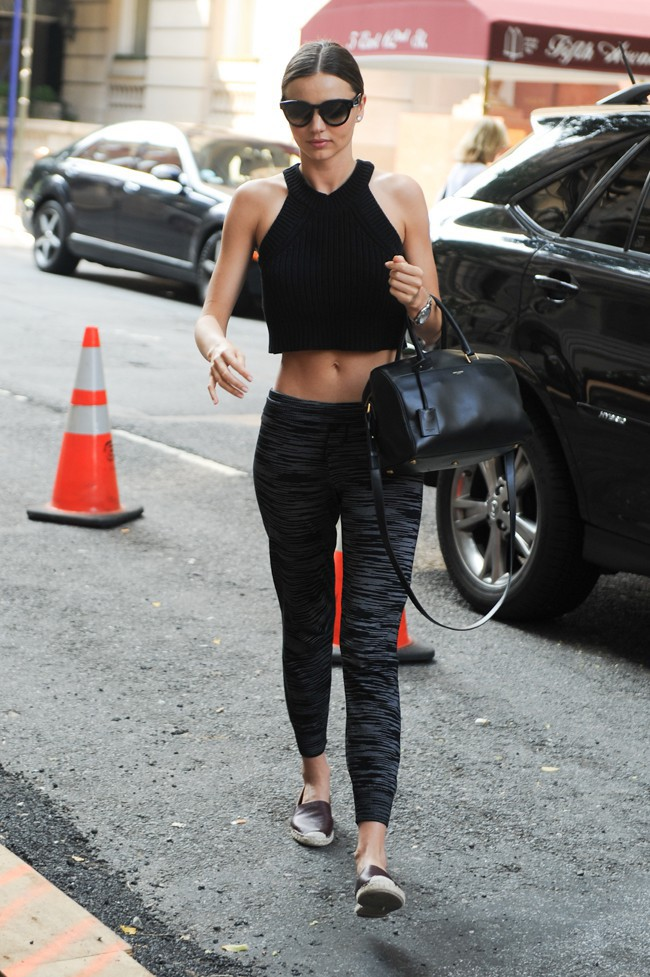 Miranda Kerr à New-York le 22 juillet 2014