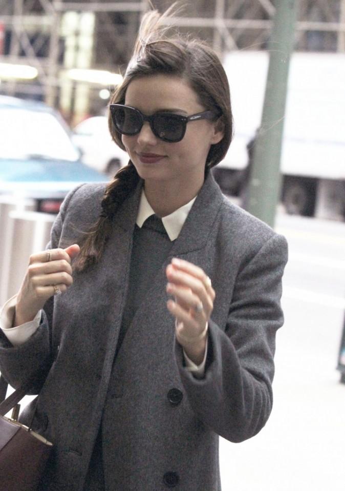 Miranda Kerr dans les rues de New York, le 15 novembre 2011.