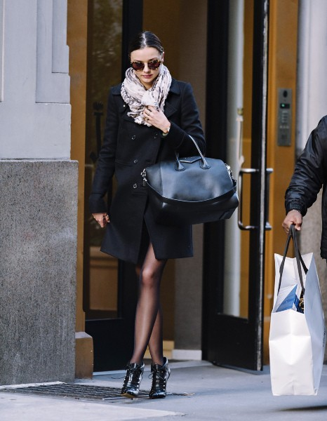 Miranda Kerr à New York, le 28 novembre 2012.