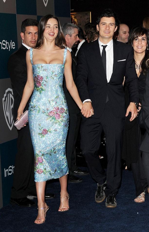 L'acteur Orlando Bloom, au bras de l'une des plus belles femmes du monde...