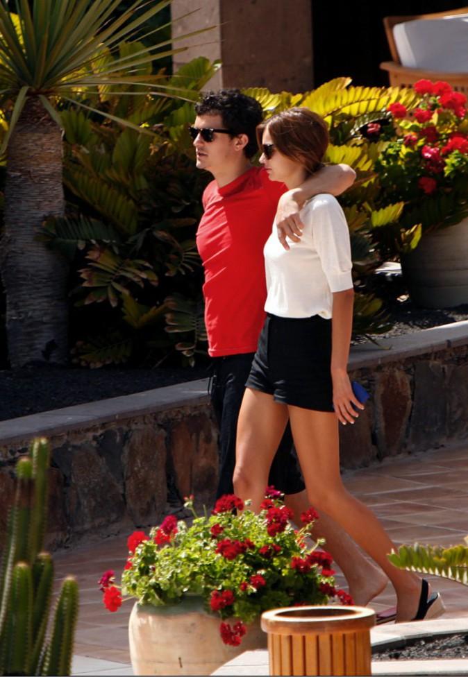 Miranda Kerr et Orlando Bloom en 2008