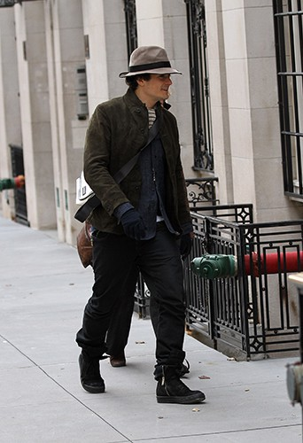Orlando Bloom à New-York le 24 décembre 2013