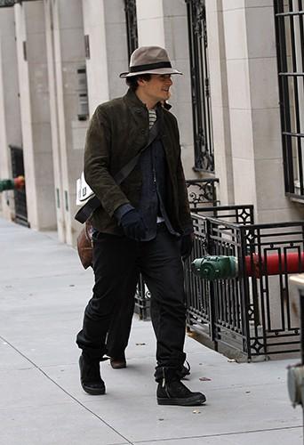 Orlando Bloom à New-York le 24 décembre 2013