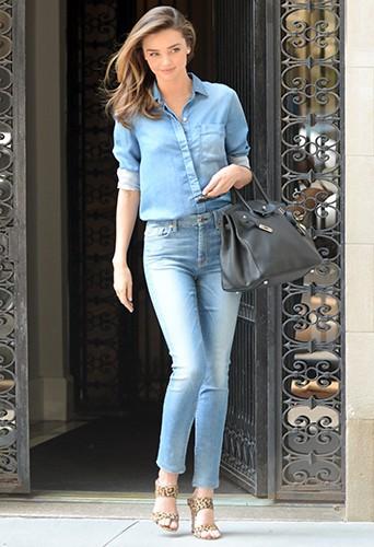 Miranda Kerr à New York le 21 juillet 2014