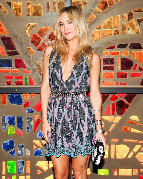 Kate Hudson au dîner Louis Vuitton à Miami le 2 décembre 2014