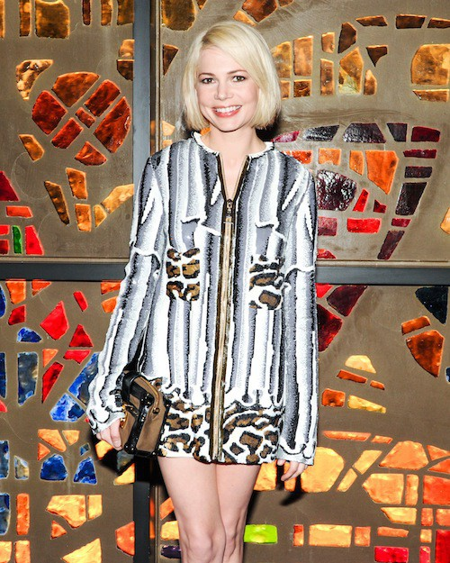 Michelle Williams au dîner Louis Vuitton à Miami le 2 décembre 2014